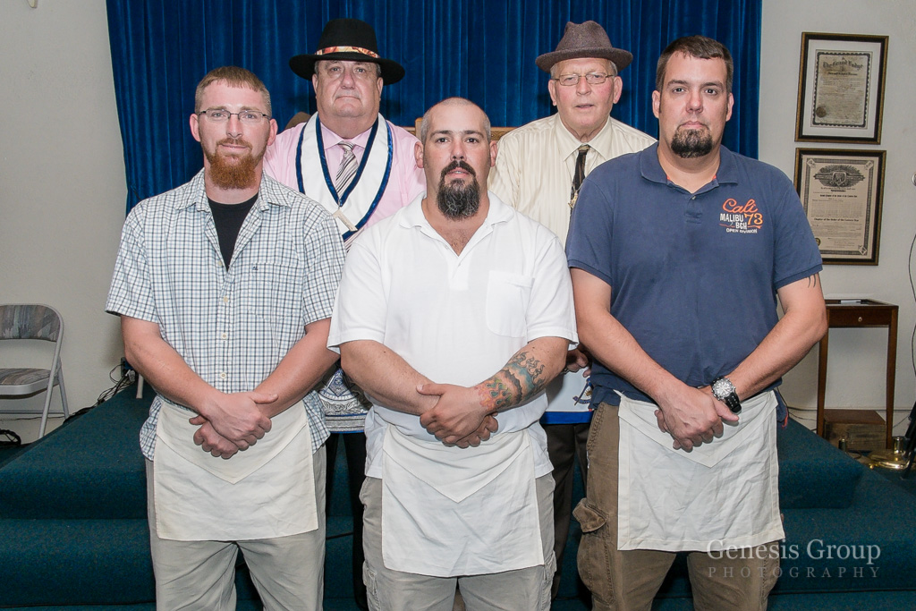 3 New Brothers During the Past Master Degree